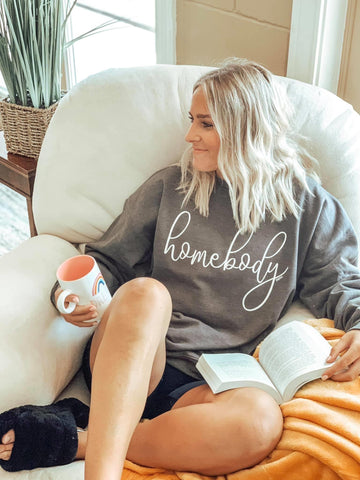 Homebody Sweater (More colors available) - This & That Boutique Shop