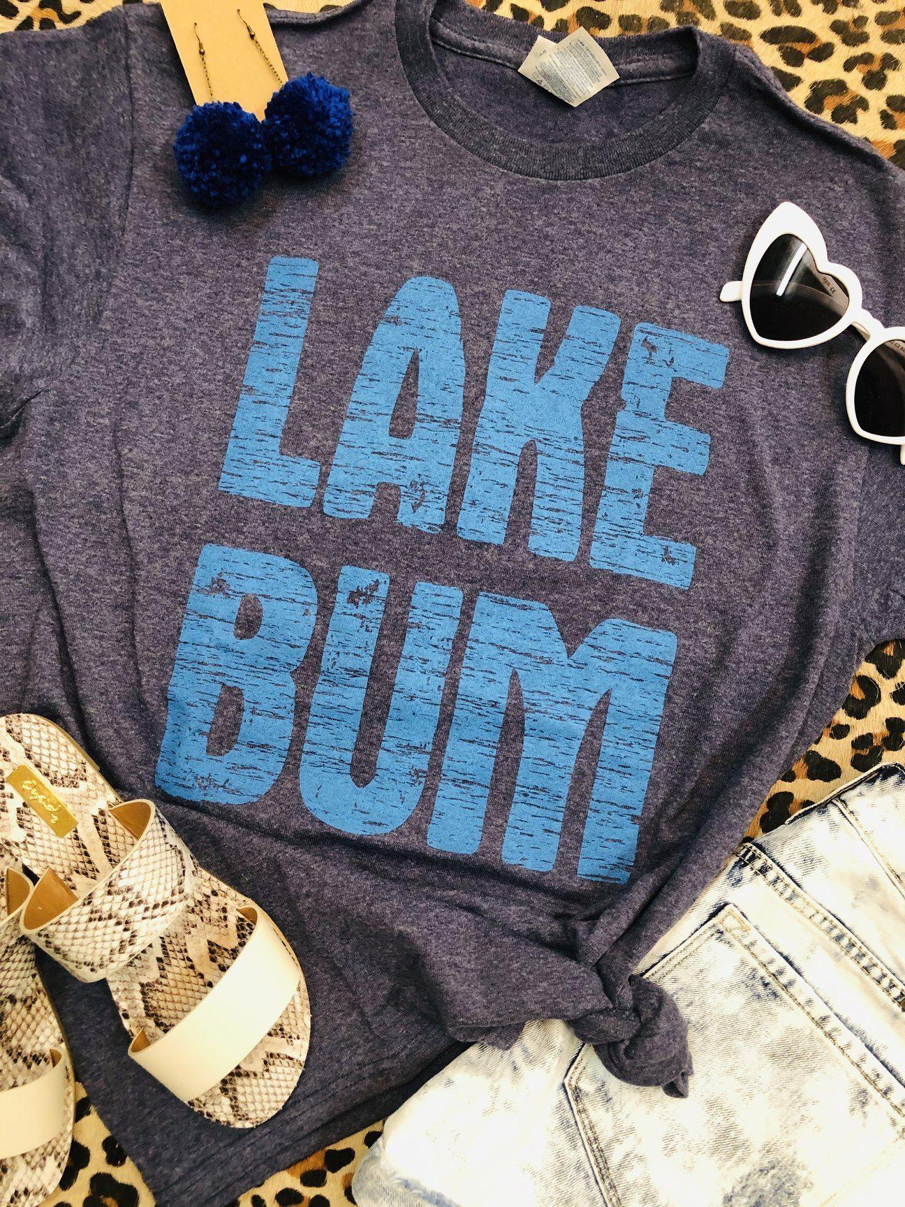Lake Bum Tee (PRE-ORDER) - This & That Boutique Shop