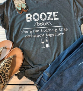 Booze Tee - This & That Boutique Shop