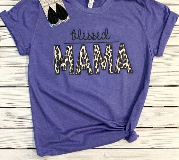 Blessed Mama Tee (PRE-ORDER) - This & That Boutique Shop