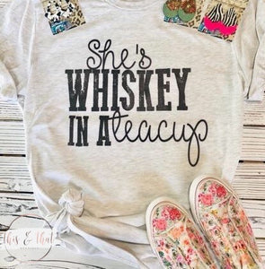 She's Whiskey in a Teacup (PRE-ORDER) - This & That Boutique Shop