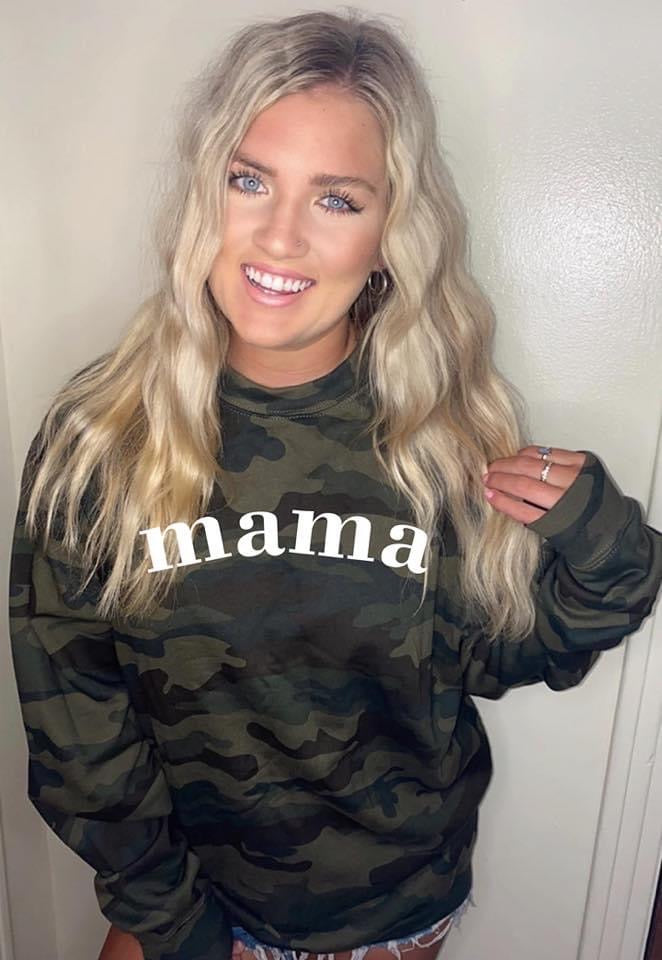 Mama Camo Hoodie - This & That Boutique Shop