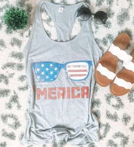 'Merica Tank (PRE-ORDER) - This & That Boutique Shop