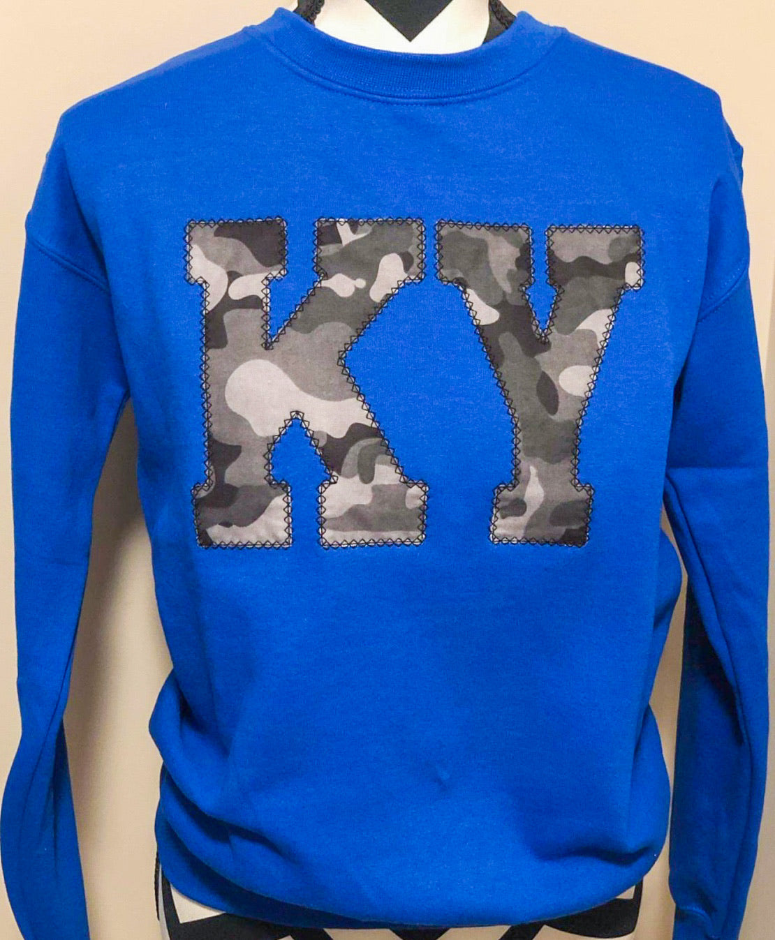 Blue State Sweatshirt (ANY STATE AVAILABLE) (PRE-ORDER) - This & That Boutique Shop