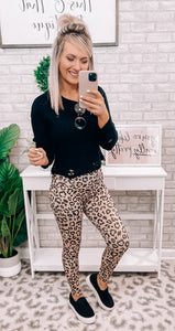 Animal Print Leggings - This & That Boutique Shop