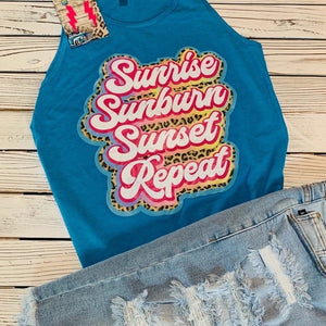 Sunrise, Sunburn Tank - This & That Boutique Shop
