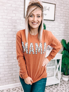 Mama Rust Tee - This & That Boutique Shop