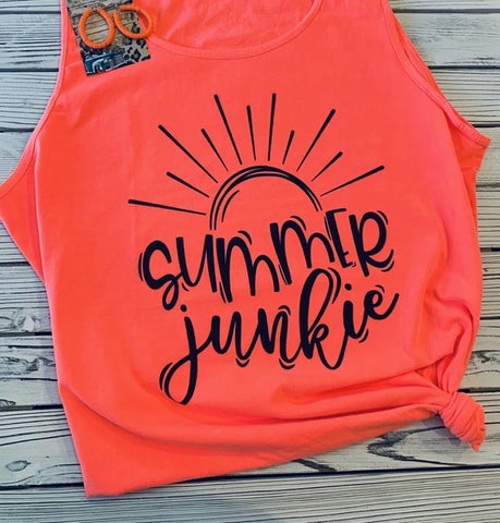 Summer Junkie Tank - This & That Boutique Shop