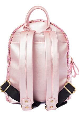 Eleanor Sequin Backpack - Cherry Cherry