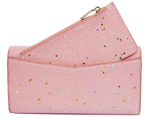 Izzy Star Flap Purse - Cherry Cherry