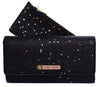 Jenny Glitter black star flapover purse - Cherry Cherry