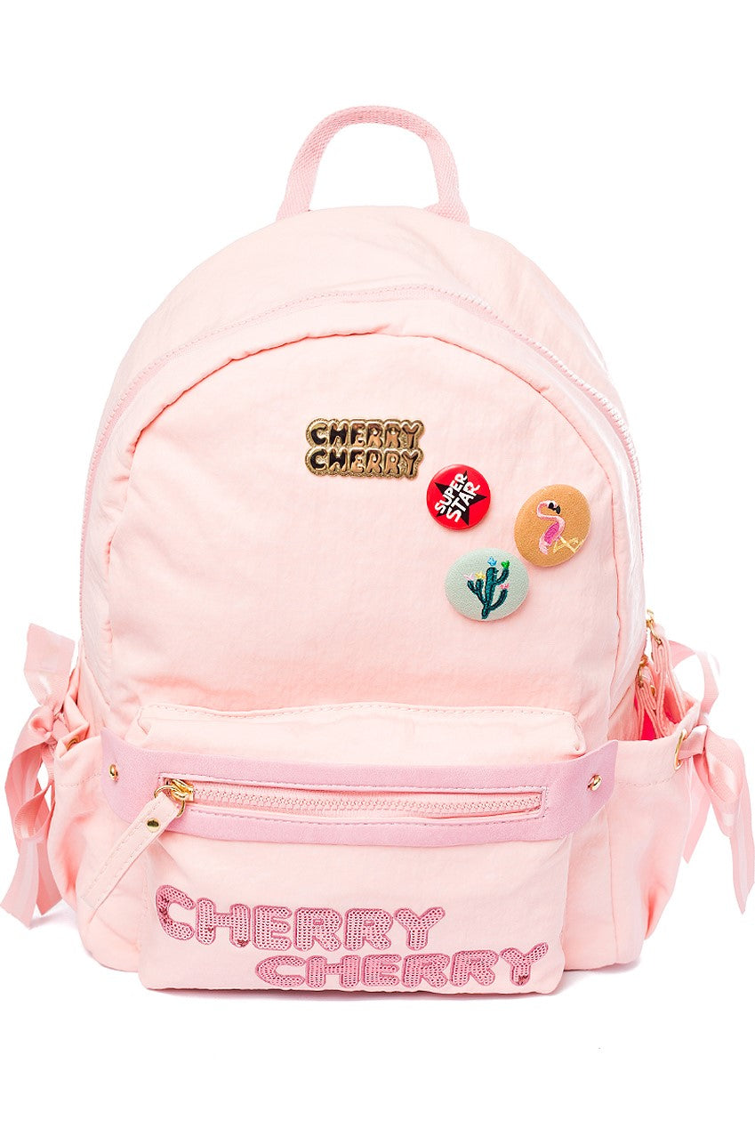 Gracie Fun Pink Backpack - Cherry Cherry