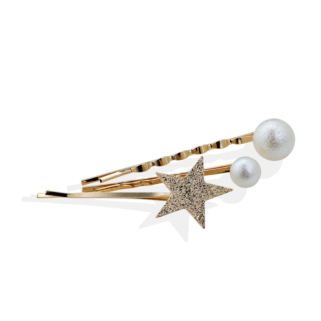Starlight Hairpins - Cherry Cherry