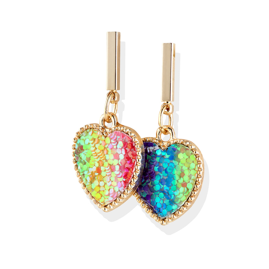Rainbow LOVE  Earrings - Cherry Cherry