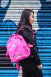 Francesca Pink Backpack - Cherry Cherry