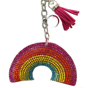 Rainbow Gem Key Charm - Cherry Cherry