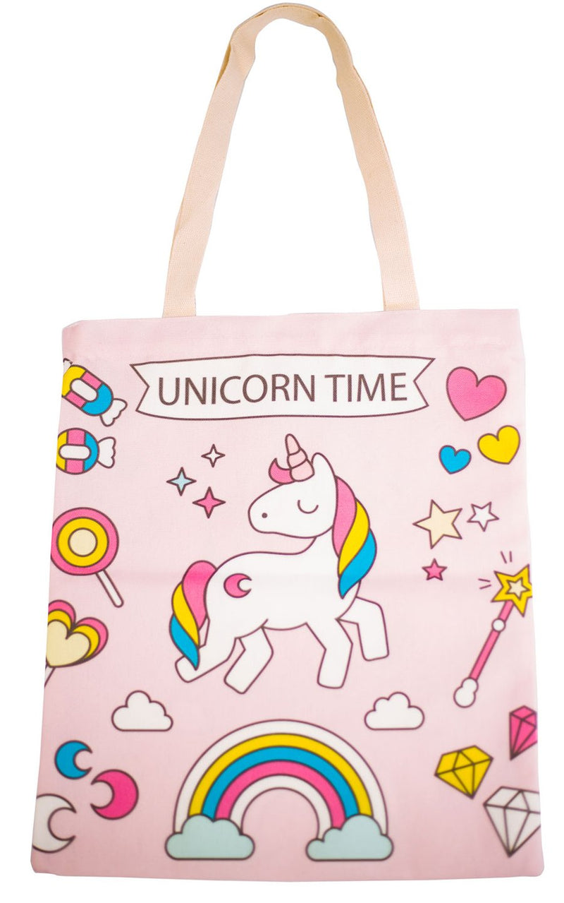 Unicorn Time Tote Bag - Cherry Cherry