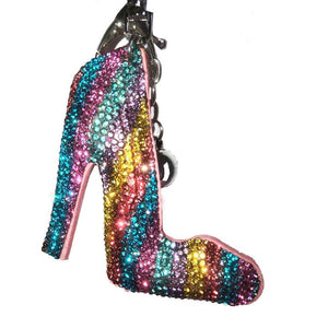 Disco Shoes Key Charm - Cherry Cherry