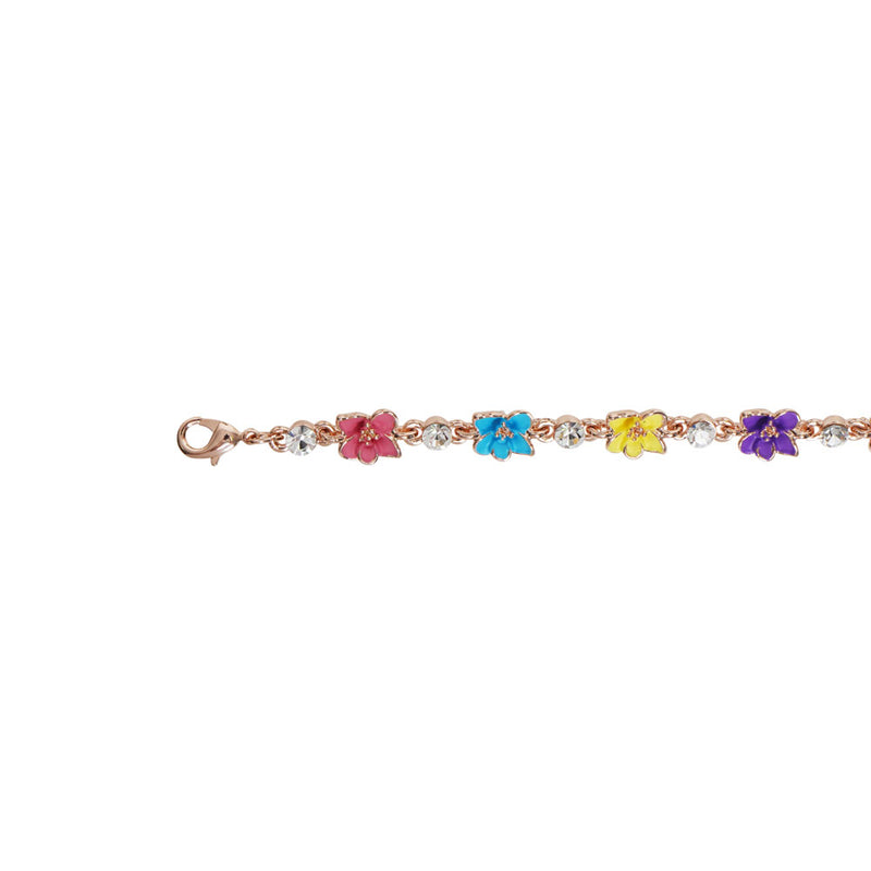 Multicolour Flower Bracelet