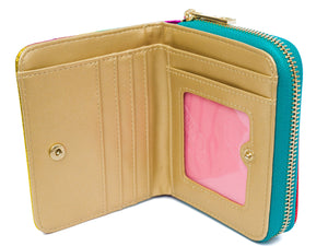 Diane Metallic Rainbow purse - Cherry Cherry