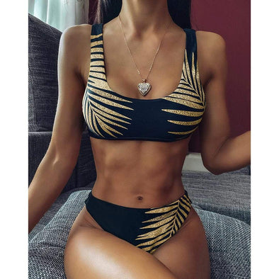 Chicloire Gold Leaf 2020 Bikini Set