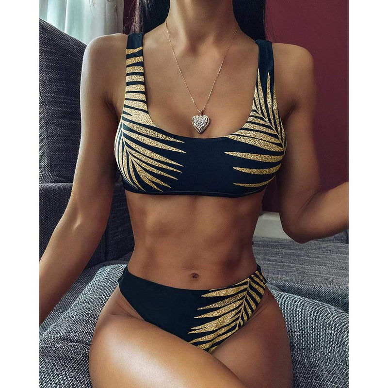 Gold Leaf 2020 Bikini Set