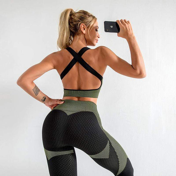 Fitness Sport Yoga Suit