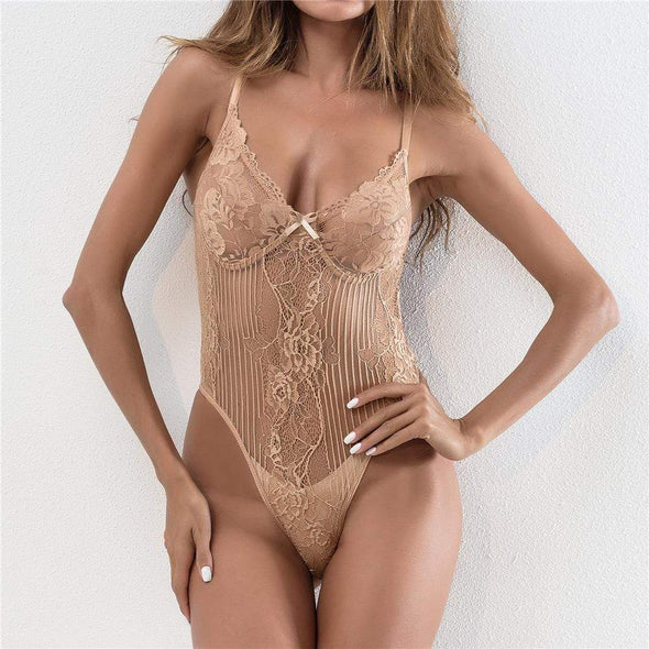 Sexy Transparent Bodysuit