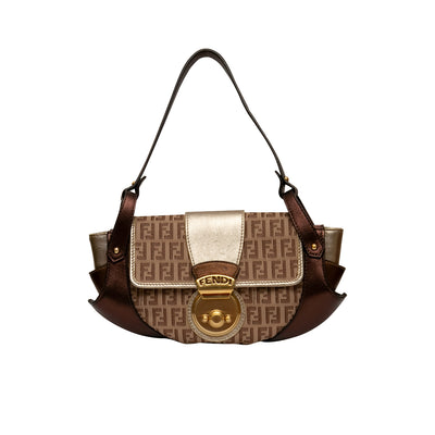 ladiesoflux - Fendi Zucchino Compilation Bag - Ladies Of Lux - Handbag