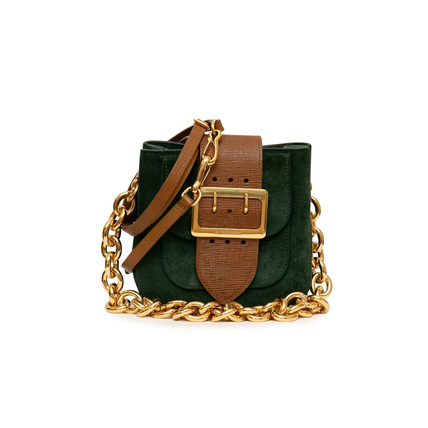 Burberry Prorsum Square Crossbody Buckle Bag