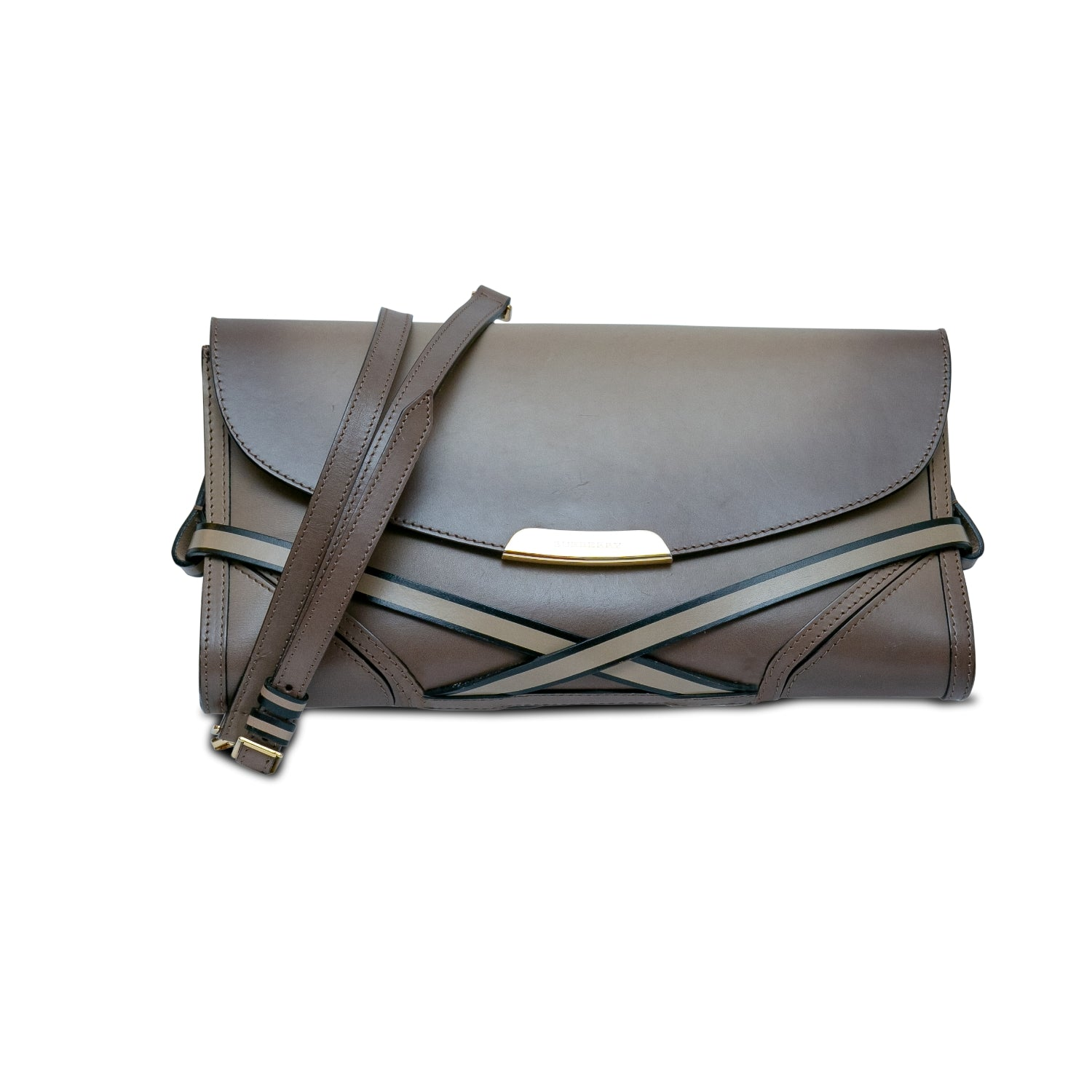 ladiesoflux - Burberry Bridle Crossbody Clutch - Ladies Of Lux - Handbag