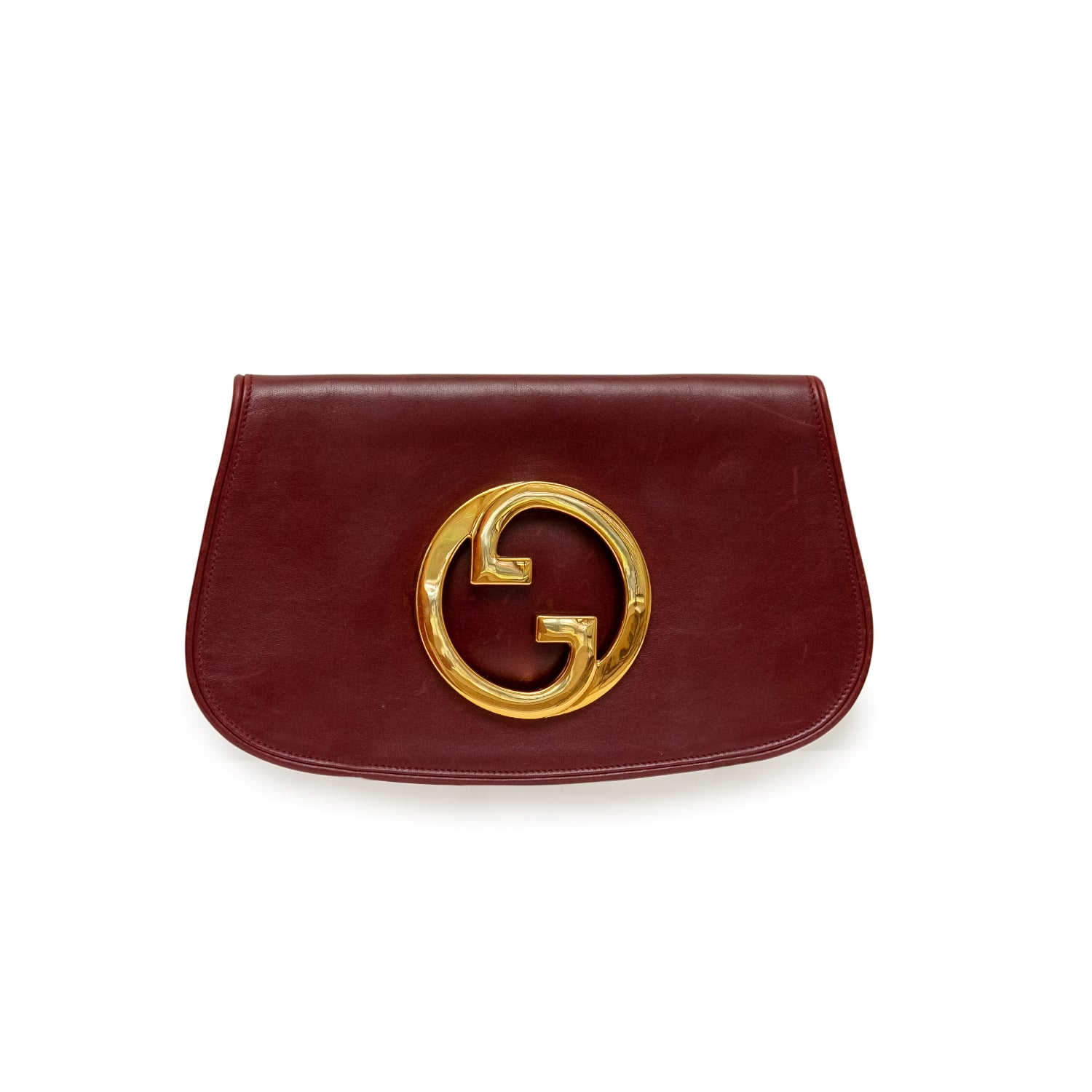 Gucci Blondie GG Leather Clutch
