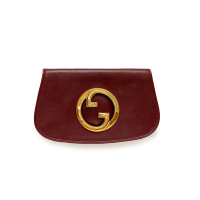 ladiesoflux - Gucci Blondie GG Leather Clutch - Ladies Of Lux - Handbag