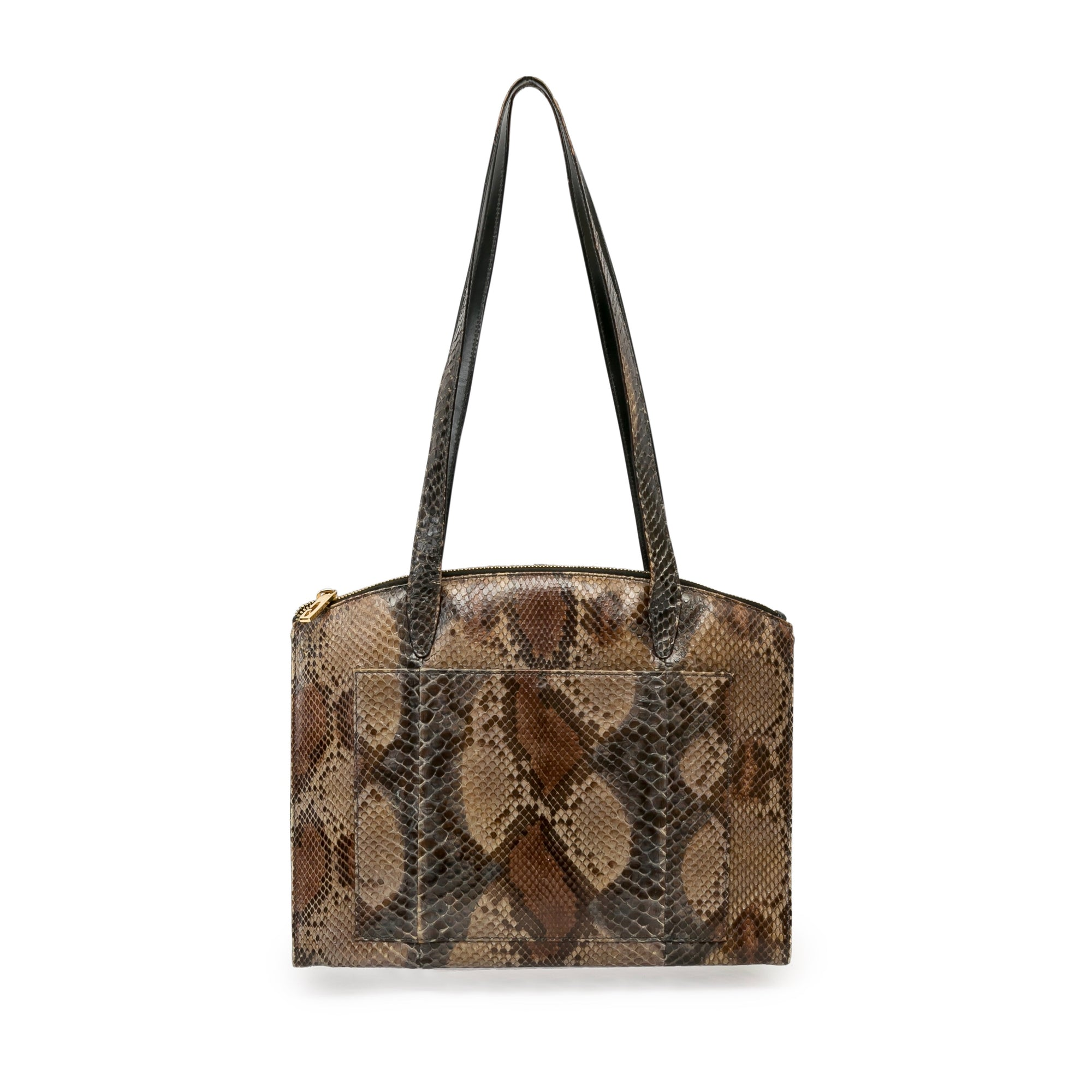 Gucci Vintage Snakeskin Shoulder Bag