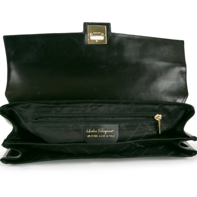 Salvatore Ferragamo Patent Shoulder Bag