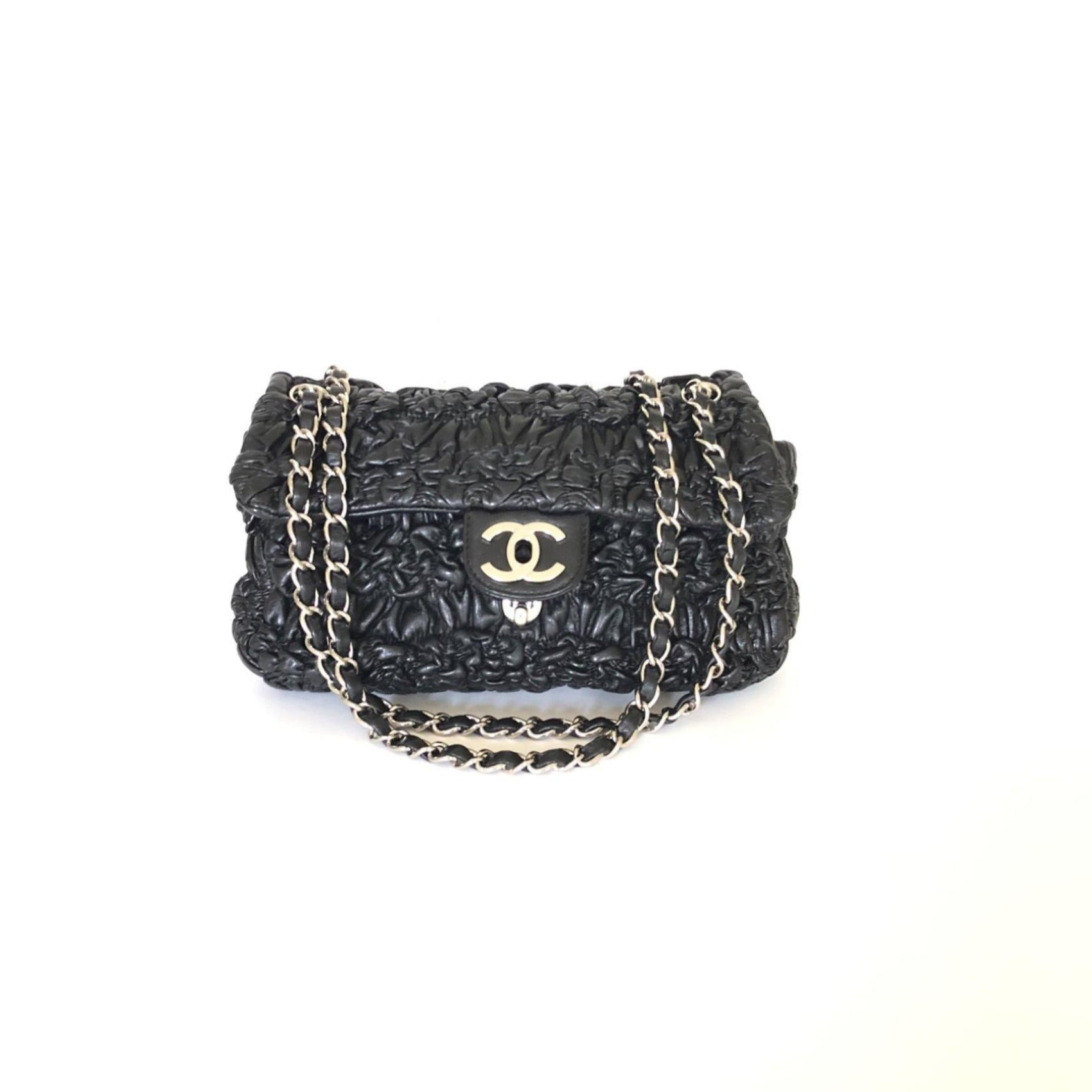 Chanel Astrakhan Lambskin Flap Bag