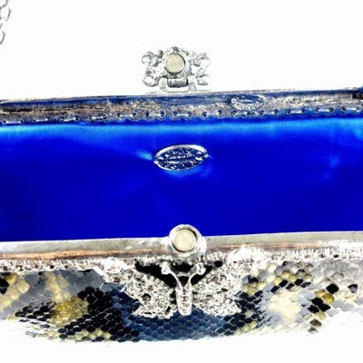 Clara Kasavina Python Evening Bag