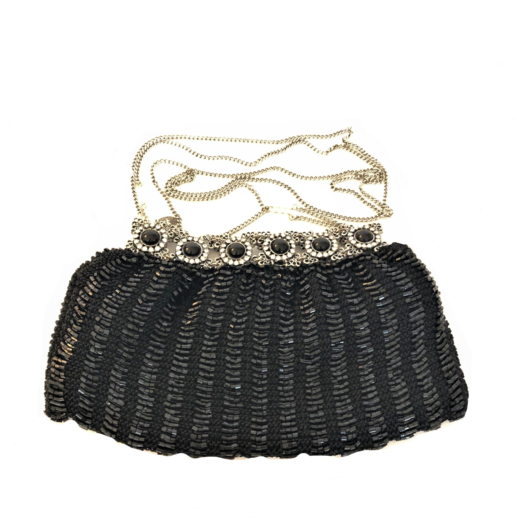 Clara Kasavina Beaded Evening Bag