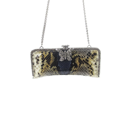 ladiesoflux - Clara Kasavina Python Evening Bag - Ladies Of Lux - Handbag