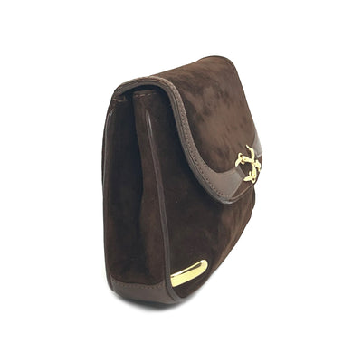 ladiesoflux - Gucci Horsebit Vintage Suede Brown Bag - Ladies Of Lux - Handbag