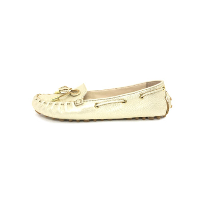 ladiesoflux - Cole Haan Cary Moccasin Loafer Gold, Size 6.5 - Ladies Of Lux - Shoes