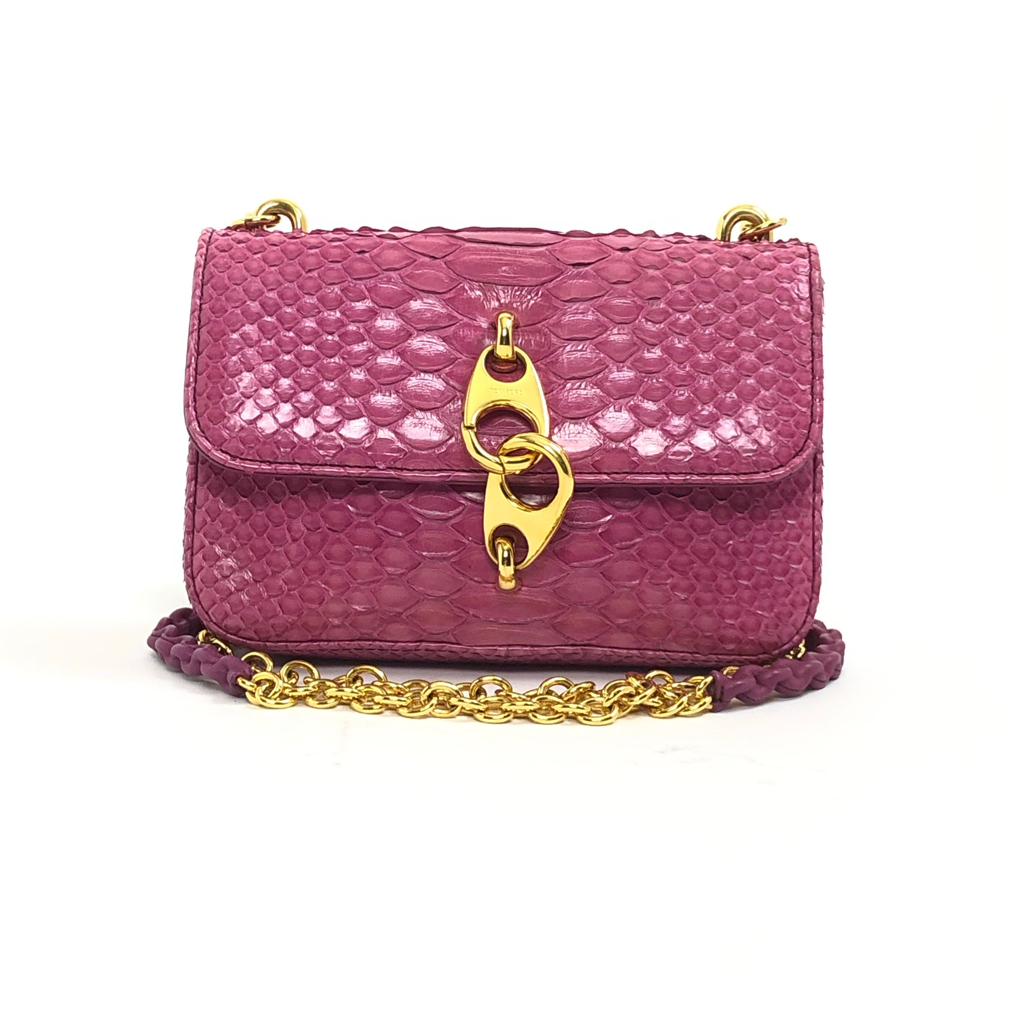 Tom Ford Python Carine Crossbody Bag