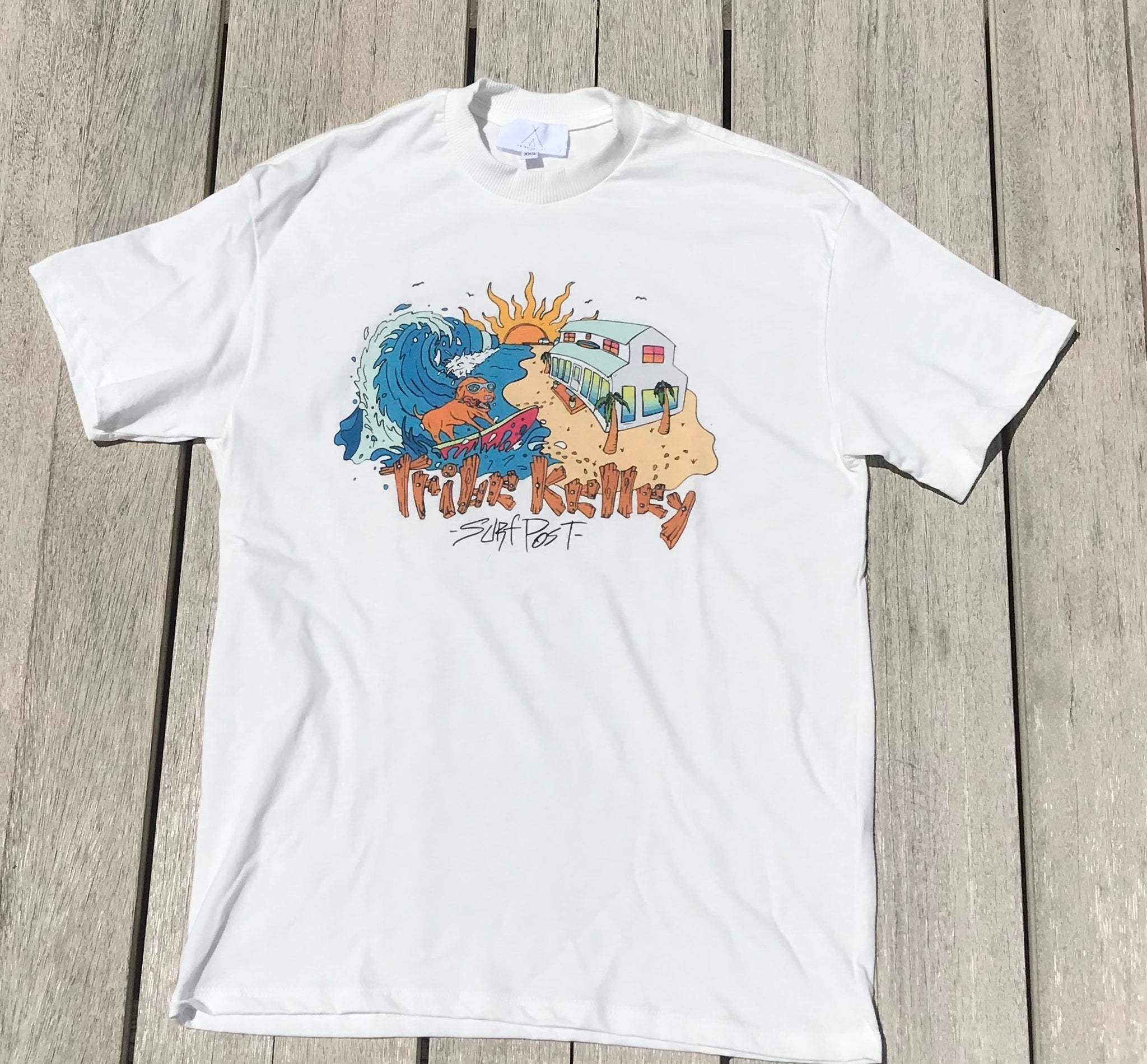Surf Post Graphic Tee