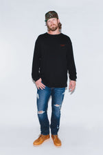Load image into Gallery viewer, Hunt Club Black Long Sleeve