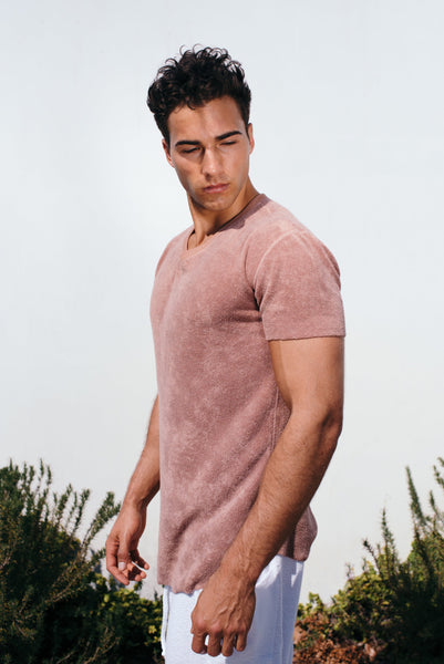 Camel Elevated Towel Tee
