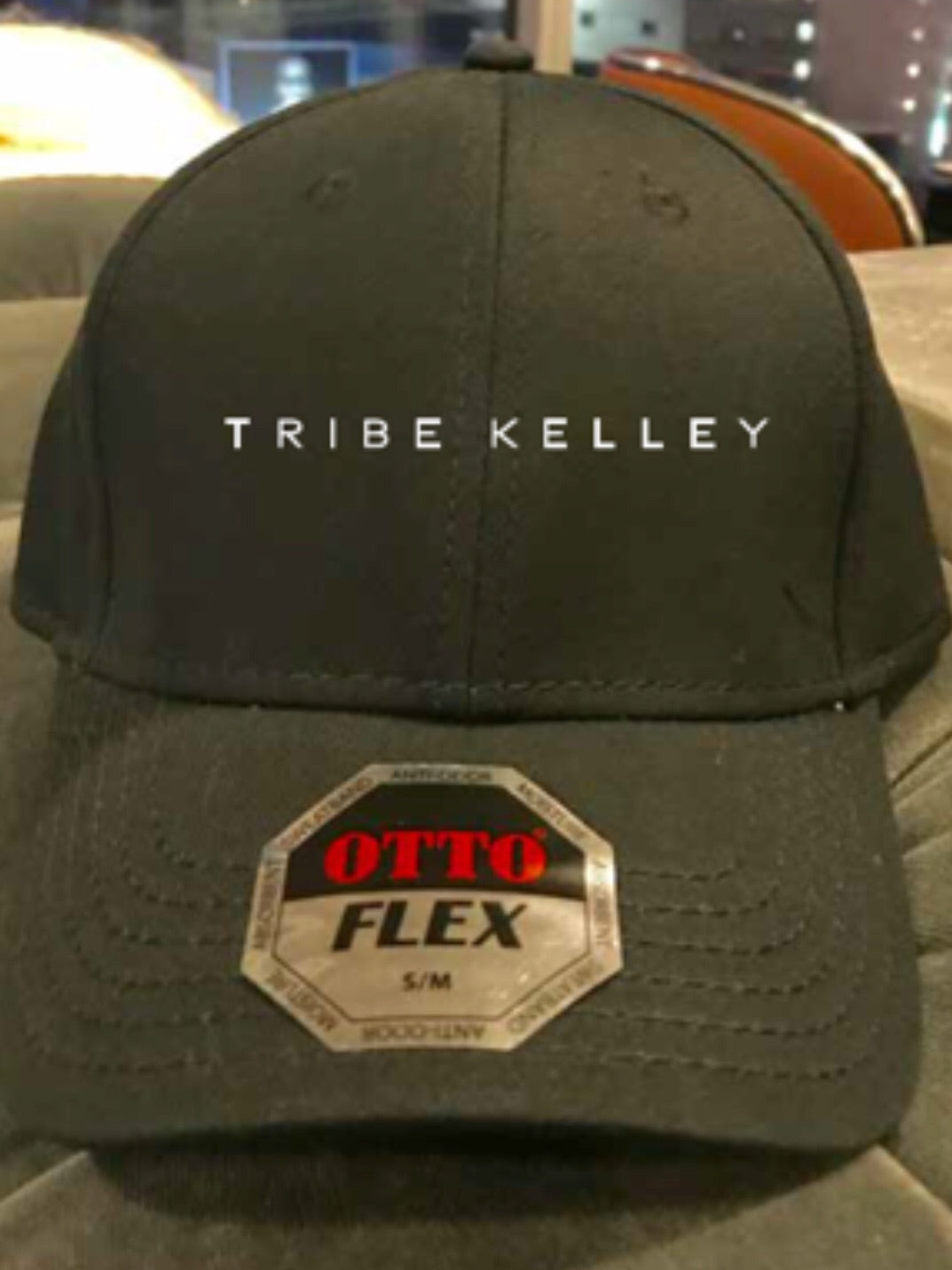 Tribe Kelley Flexfit Ball Cap Black