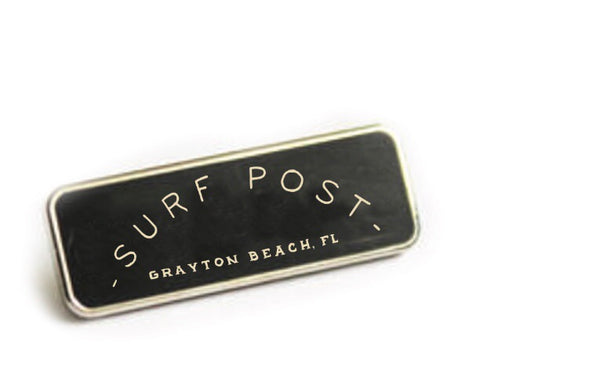 Surf Post Enamel Pin