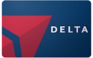 Delta Airlines Gift Card