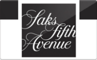 Saks Fifth Avenue Gift Card