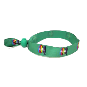 The Band Wristband (Green)